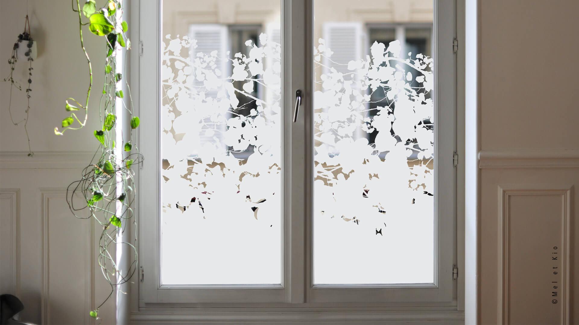 Stickers et Autocollants pour vitres - Vitrophanie en série by Mel